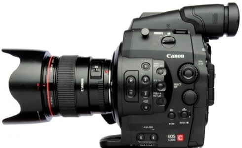 Photo de la caméra Canon EOS C300